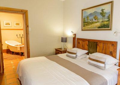 Bed & Breakfast Oudtshoorn - Double bed